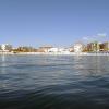 Альбир, вид на город с моря