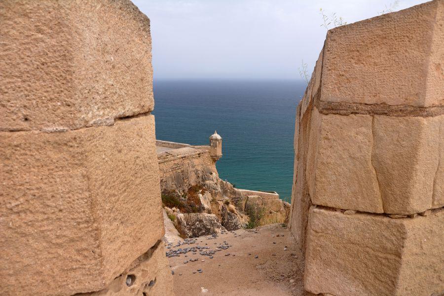 Аликанте, крепость Санта-Барбара