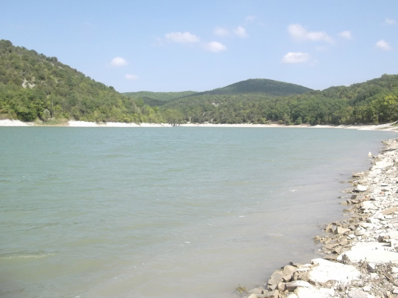 Горное озеро в Сукко