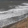 Анапа, Черное море - начало шторма