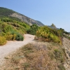 Вид с горы, на которой находится Утришский заповедник