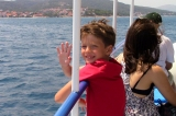 Подплывая к острову Чиово