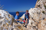 Кальпе, на вершине скалы Ифач