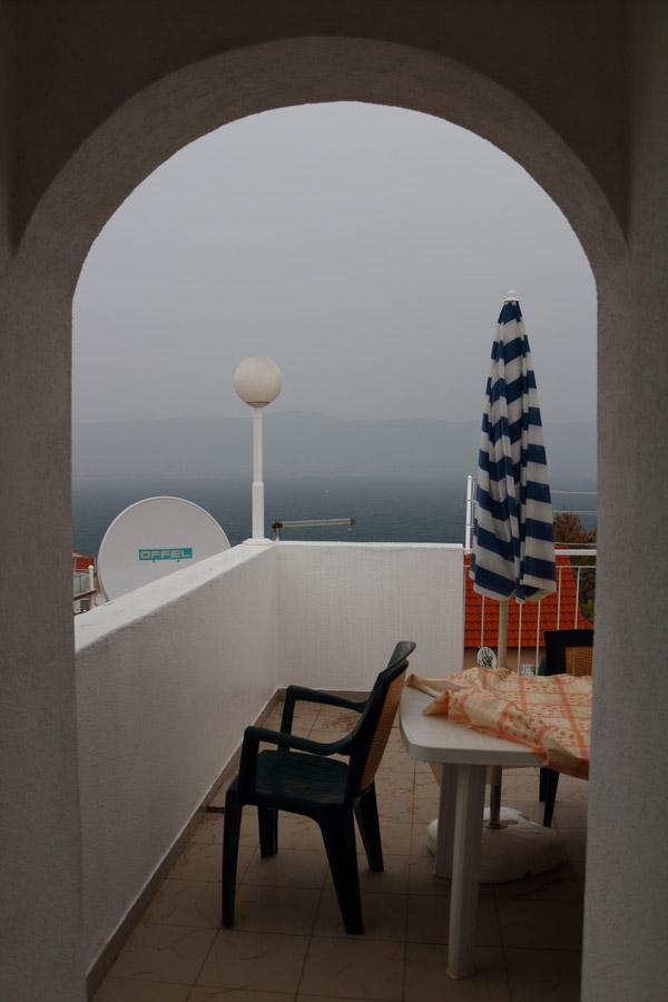 Чиово, вид с террасы