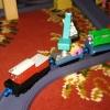 Ирвин и вагоны для уборки мусора