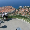На вершине горы Срдж, вид на Дубровник