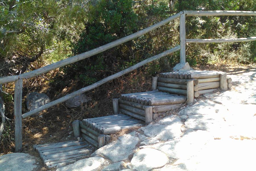 Кальпе, природный парк на скале Ифач