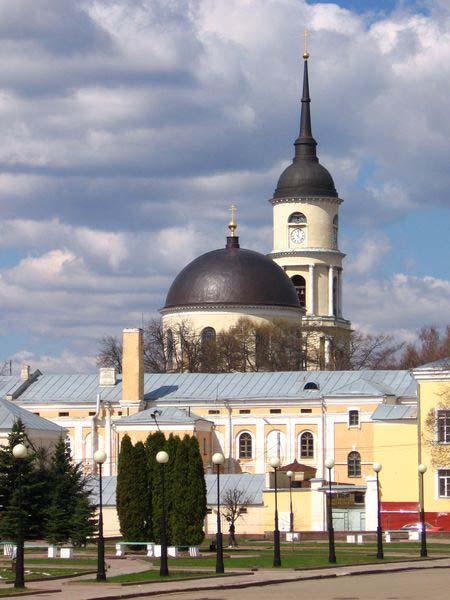 Калуга, церковь в городском парке