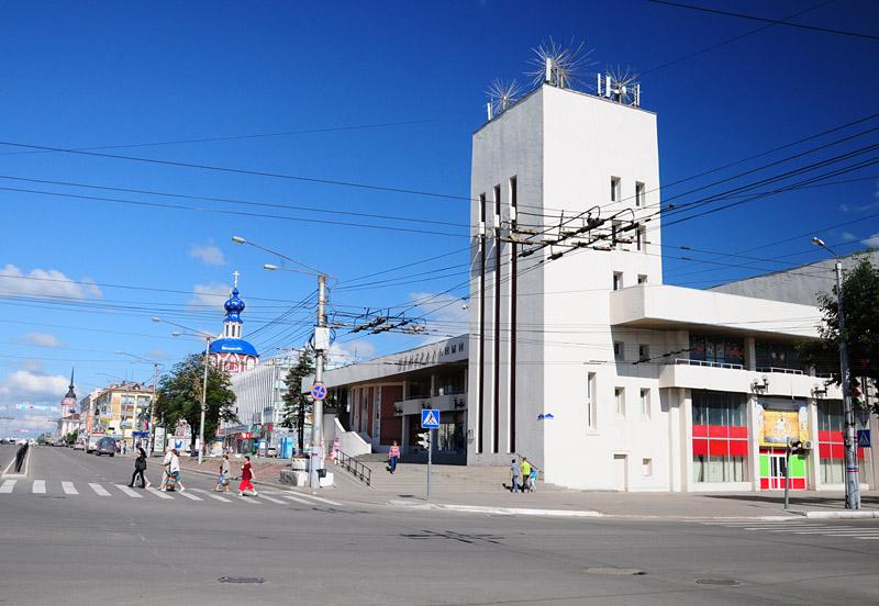 Калуга, кинотеатр Центральный
