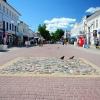 Калуга, Театральная улица, нулевой километр