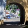 Калуга, арка возле Центрального парка