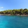Остров Локрум, вид с моря