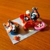 У моря. Семья пингвинов