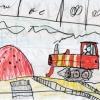 Трактор на стройке