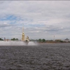 Санкт-Петербург, Нева, вид на Петропавловскую крепость