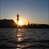 Экскурсия по каналам Санкт-Петербурга - ростральные колонны-маяки