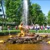 """Петергоф - Нижний парк, Оранжерейный сад, фонтан """"Тритон"""""""