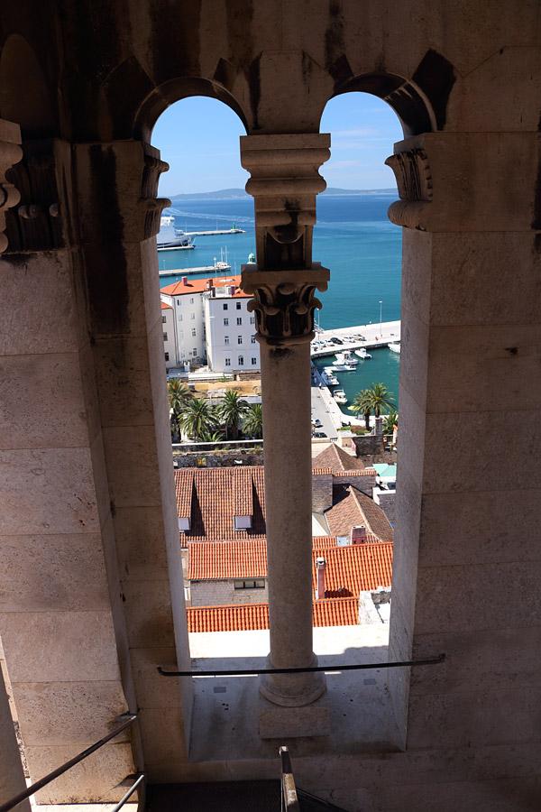 Сплит, вид с колокольни собора св. Домния