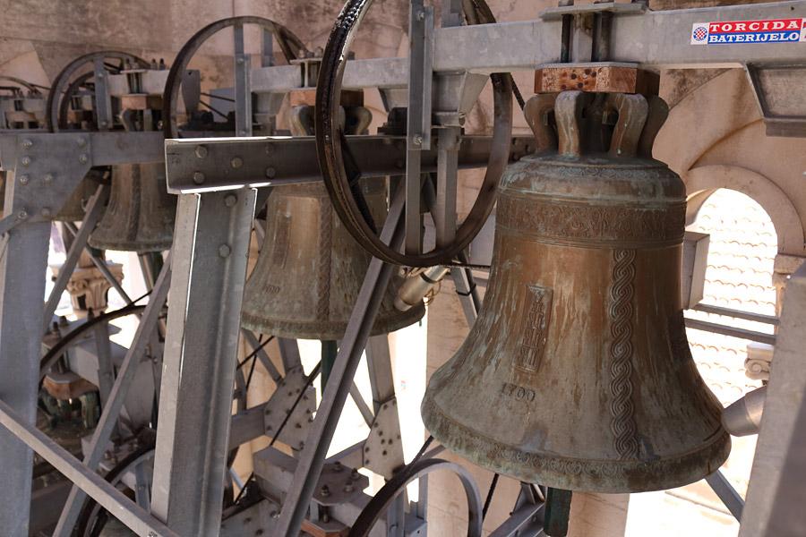 Сплит, колокольня Кафедрального собора св. Домния