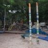 Сребрено: детская площадка на набережной