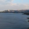Вид со смотровой площадки по пути в аэропорт Дубровника