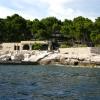 Купари со стороны моря, дача президента Югославии Тито