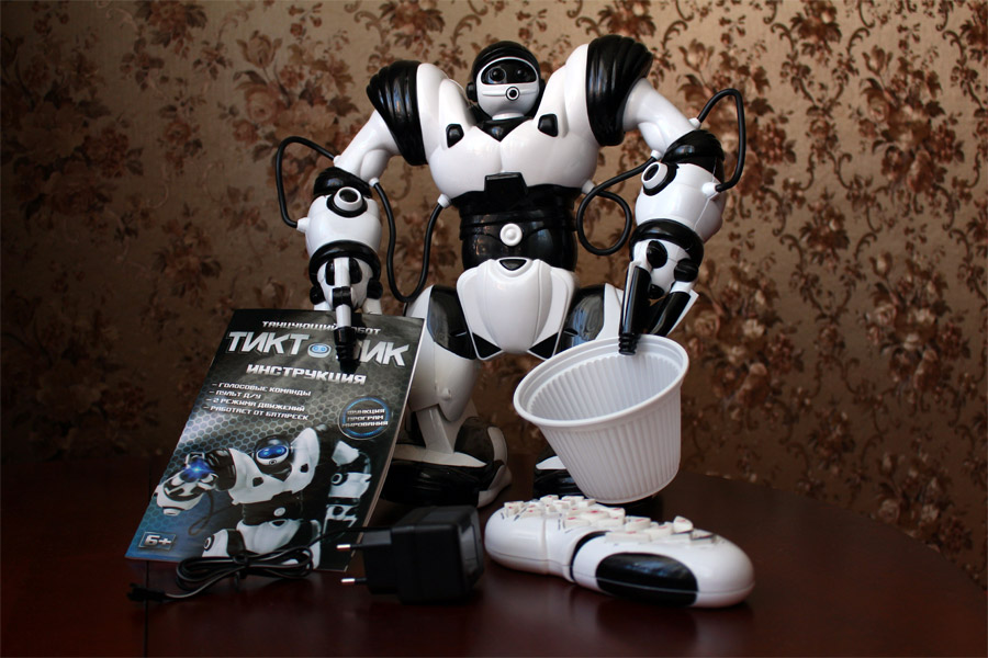 Комплектация робота Тиктоника