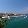Трогир, вид на порт с крепости Камерленго