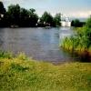 Вышний Волочек, река Цна, место отдыха на острове