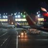 Посадка в аэропорту Шереметьево, Москва