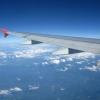 Улетая из Хорватии. Вид из окна самолета, 18 ряд аэробуса 319
