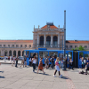 Загреб, здание железнодорожного вокзала