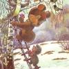 Российская Федерация. 14.05.92. С праздником весны! З. 92760. 4млн. Зайчик, медведь и ежик поздравляют белочку.