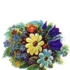 Российская Федерация. 11.05.95. З.95052. Букет полевых цветов.