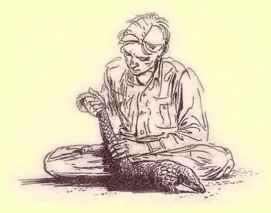 Джеральд Даррелл, рис. Ральфа Томсона, 1964 год