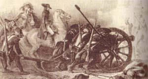 Подавление мятежа в Париже