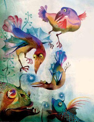 Крылья и плавники