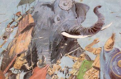 Боевой слон Ганнибала