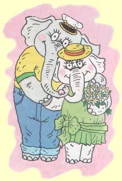 Слоник женится