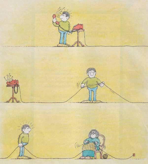 Телефонный звонок - комикс