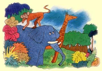 Слон и пеночка