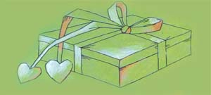 Шнурок для подарка