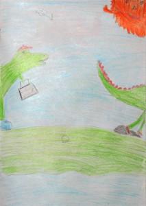 Динозавры из Оладии.