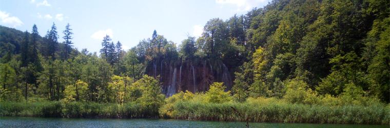 Плитвицкие озера, панорама