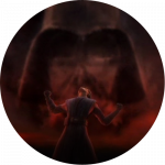Энакин сопротивляется видениям будущего на планете Мортис. Впоследствии знание будет стерто из его памяти.
