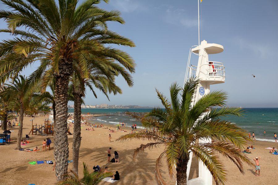Аликанте, городской пляж