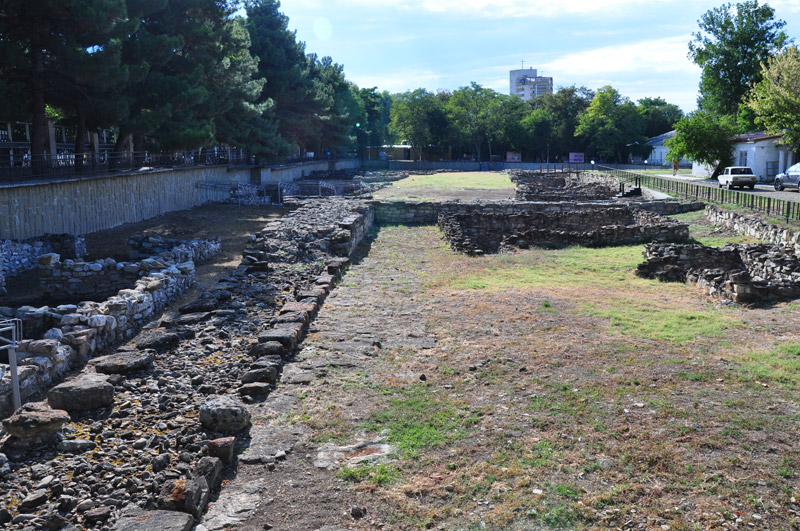Анапа, музей раскопок