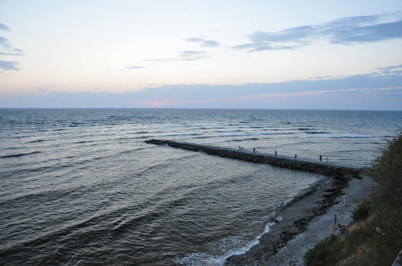 Анапа, вечер на Черном море