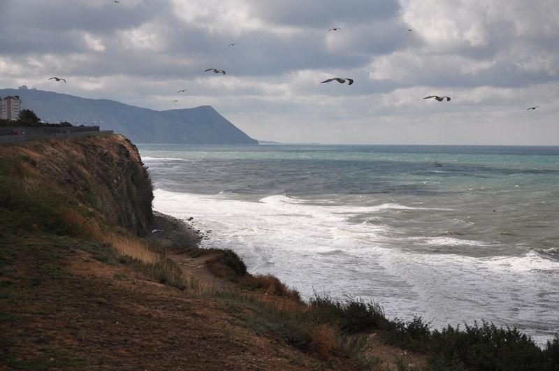Черное море, начало шторма