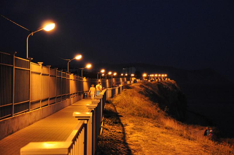 Анапа, Черное море, закат